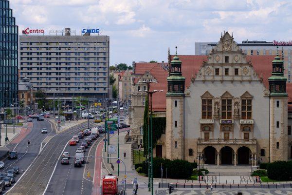 Akademiki UAM znajdują się też w centrum Poznania