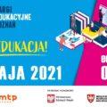 Plakat promujący targi edukacyjne online